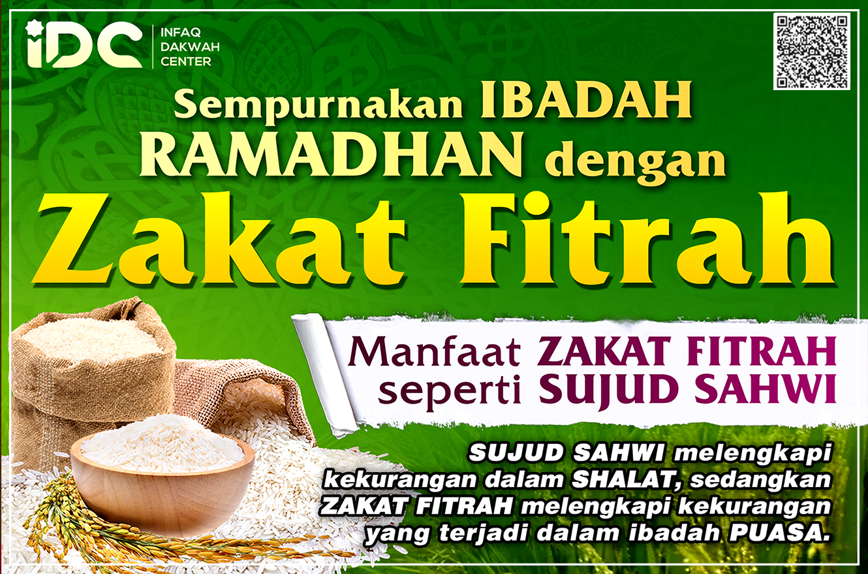 Sempurnakan Ibadah Ramadhan dengan Zakat. IDC Salurkan ...