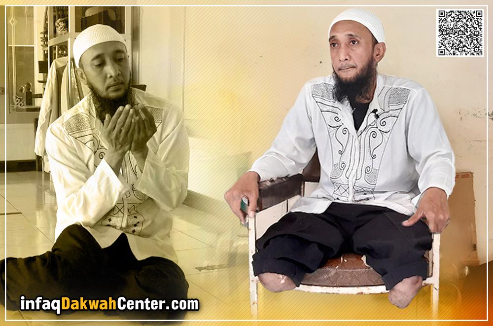 Diincar Pemurtadan, Aktivis Masjid Butuh Kaki Palsu dan ...