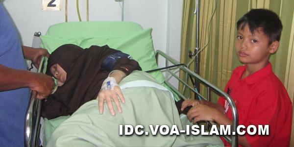 Nurhalimah: Janda Mujahid Tergolek Kritis di Rumah Sakit, Butuh Uluran