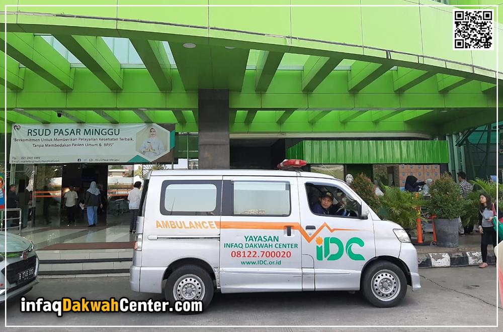 Ambulance Gratis Idc Antar Pasien Stroke Ke Rsud Pasar Minggu
