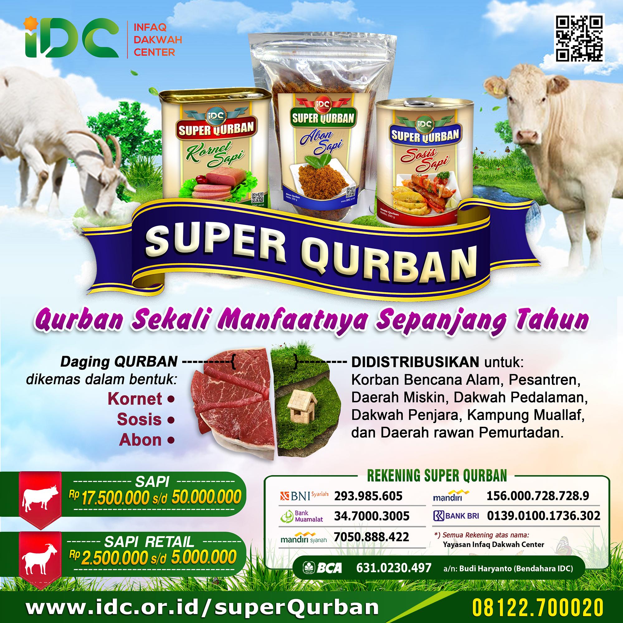 Super Qurban Abadi Berqurban Sekali Manfaatnya Mengalir Sepanjang Tahun